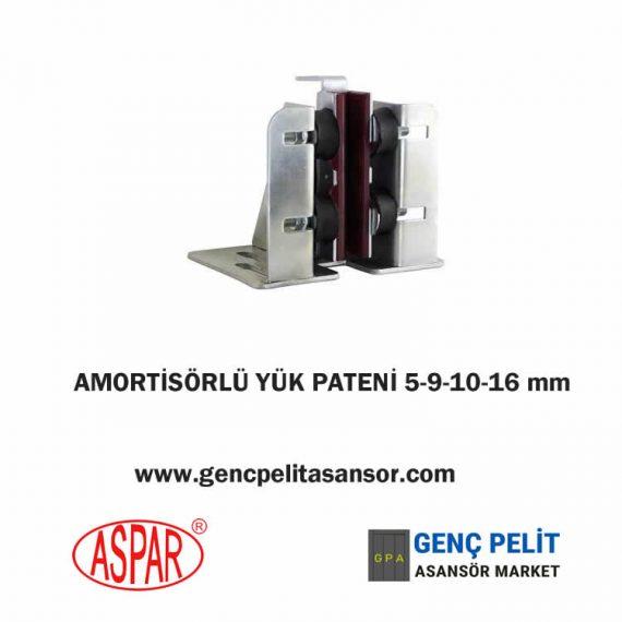 AMORTİSÖRLÜ YÜK PATENİ 5-9-10-16 mm