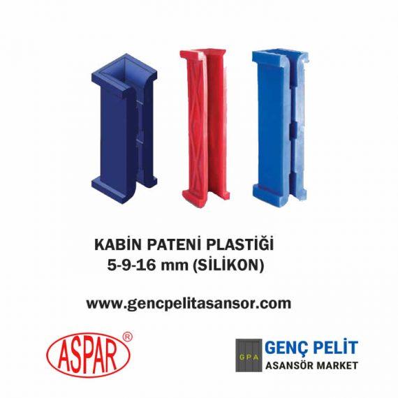 KABİN PATENİ PLASTİĞİ 5-9-16 mm (SİLİKON)